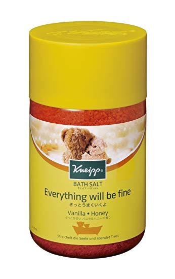 クナイプ香り比較④:バニラ&ハニーの香り