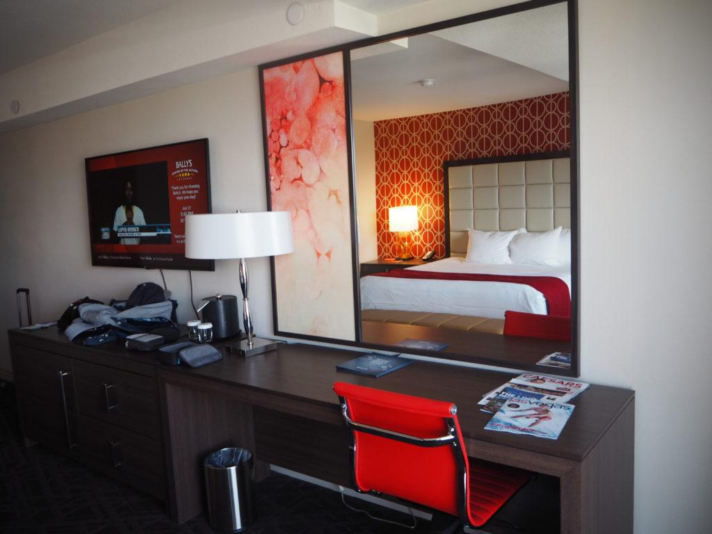バリーズラスベガスの部屋はこんな感じ!