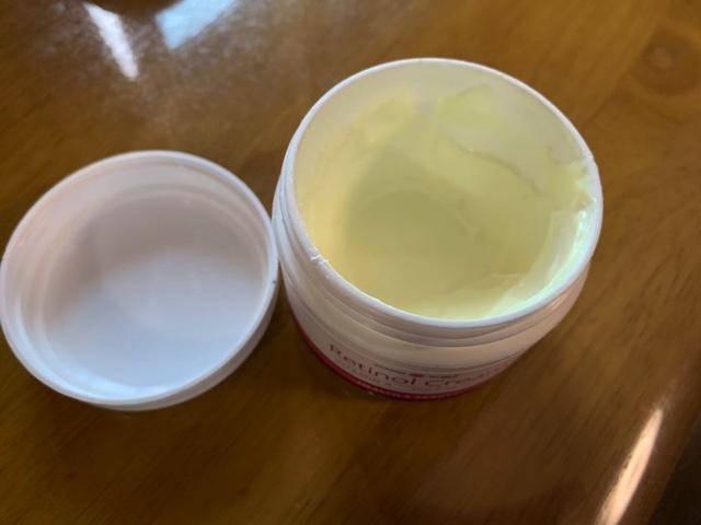 ビタミンワールドのレチノールクリームを使った感想